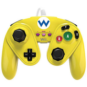 Wario Wired Fight Pad for Wii U - Yellow