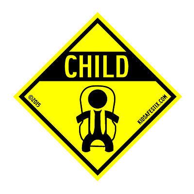 Kids safety car magnet