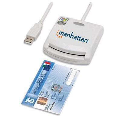 Manhattan Lettore di Smart card USB esterno