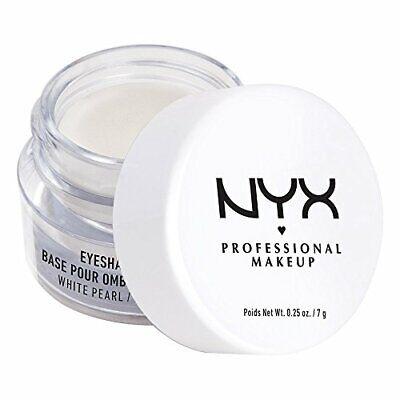 NYX Eyeshadow Base Primer WHITE PEARL ,Ounce NYX Cosmetics S