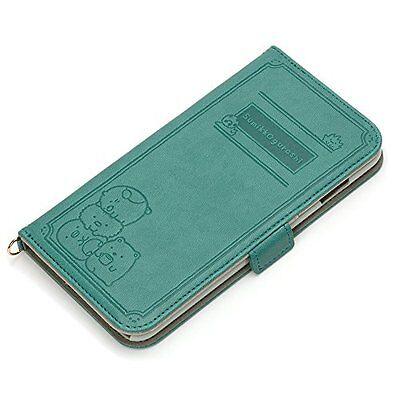 iPhone 6 Plus (5.5) San-X  Book Case - Sumikko Gurashi Green