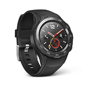 Huawei Watch 2 - Carbon Black - Brand New Android Smart Watch