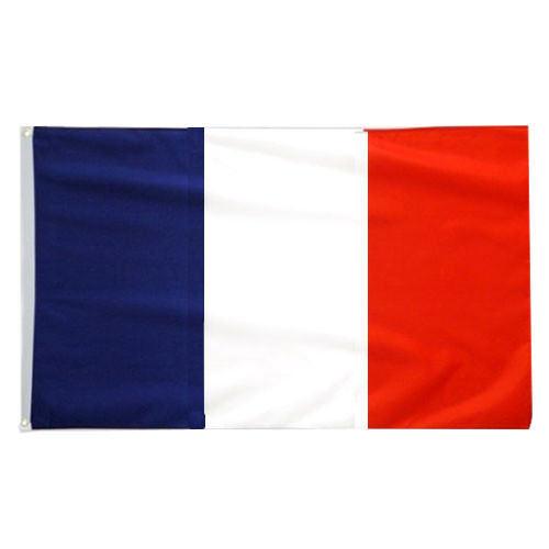 Frankreich Fahne Flagge 90x150cm Wetterfest mit Ösen