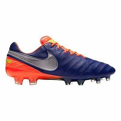 Nike Tiempo Legend VI FG Soccer Cleat, Men's US 8.5, Deep Royal Blue, 819177-409