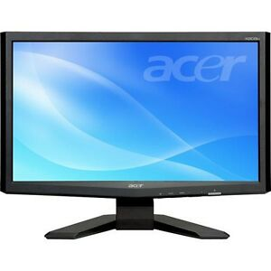 """Acer X203Hbd Black 20"""" 16:9 5ms Widescreen LCD"""