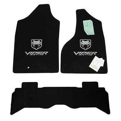 2004 - 2006 Dodge Ram Quad Viper TRUCK Floor Mats SRT-10 - Custom Colors