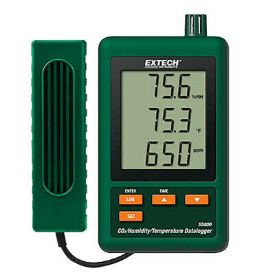 Extech Sd800 Co2humiditytemperature Datalogger With Sd Card
