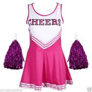Pink Cheerleading Uniform