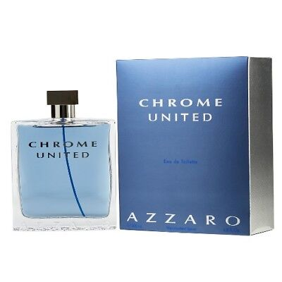 Chrome United By Azzaro 6 8 Oz Edt Cologne For Men New In Box