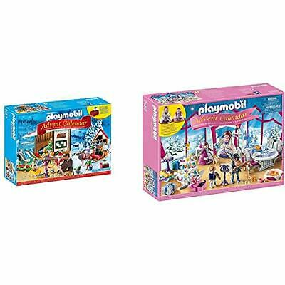 PLAYMOBIL Advent Calendar - Santa's Workshop & Advent Calendar - Christmas Ball