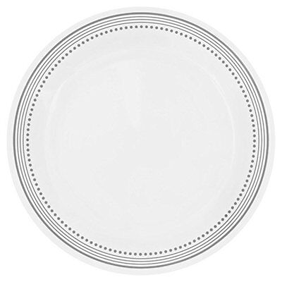 """Corelle Livingware Mystic Gray 10.25"""" Dinner Plate (Set of 4)"""
