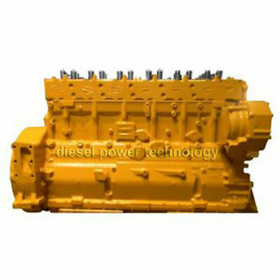 Caterpillar 3406e Remanufactured Diesel Engine Long Block