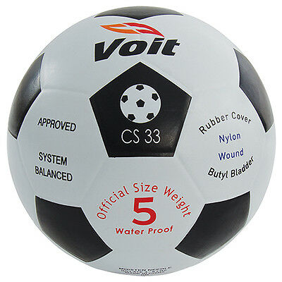 Voit® Waterproof Rubber Soccer Ball - Size 4   - Rubber Soccer Ball