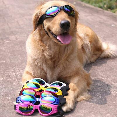 Protection Doggles Dog Sunglasses Pet Goggles UV Sun Glasses Eye Wear 6 (Pet Sunglasses)