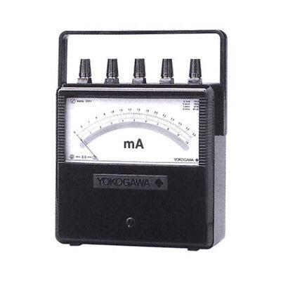 Yokogawa 201139 Portable Dc Voltmeter 31030100 V 1 Ma 1000 V