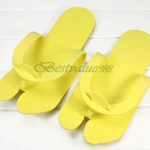 12-Pairs-24pcs-Disposable-One-time-Pedicure-Slipper-Spa-Salon-Foam-Flip-Flop-NEW