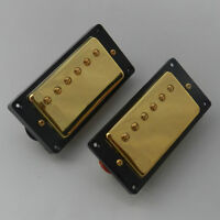 Gold Doublecoil Humbuckers -Epiphone/Gibson-Set of 2 - Brand New