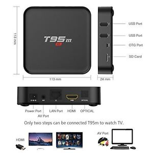 T95M ANDROID BOX ANDROID 6.0.1 S905X PROCESSOR 2GB Kitchener / Waterloo Kitchener Area image 9