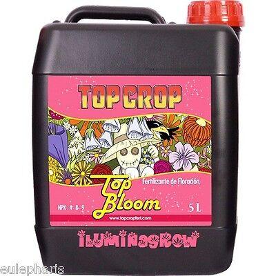 TOP BLOOM 5L Abono de Floracion , Fertilizante TOP CROP