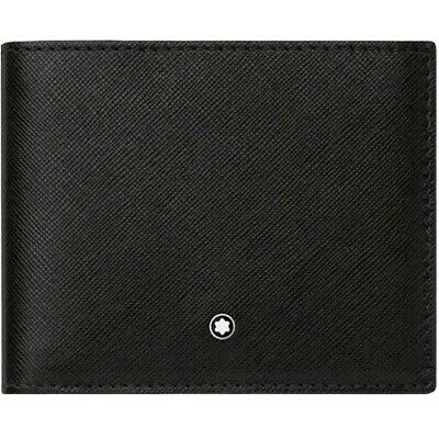 Montblanc Sartorial Mens Bifold Natural Cowhide Leather Wallet 113215