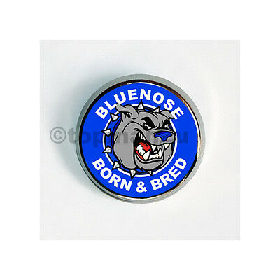 New Quality Circular Metal Pin Badge - Bluenose Born & Bred, BCFC, Birmingham
