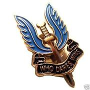 SAS Pin Badge