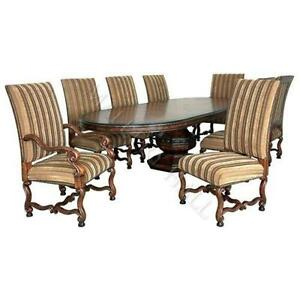Oval Dining Table EBay - Oblong dining table with leaf