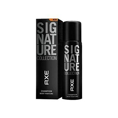 AXE Signature Champion Men Body Perfume SPRAY Masculine Sensual Fragrance 122 ml