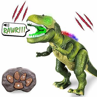 Windy City Novelties LED Light-up T-Rex Dinosaur Toy for Boys Girls T-Rex Remote](Windy City Lights)