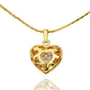 9ct gold pendant ebay 9ct gold heart pendant necklaces mozeypictures Choice Image