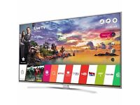 LG 55-inch Smart 4K ULTRA HDR LED TV-55UH770V,built in Wifi,Freeview HD,Netflix,EXCELLENT CONDITION