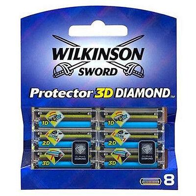 16 WILKINSON PROTECTOR 3D DIAMOND RASIERKLINGEN