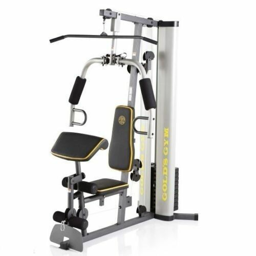 GOLD'S HOME GYM XR 55 Training Workout Total Fitness Strength Equipment Exercise