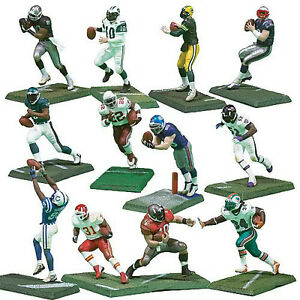 "MCFARLANE NFL 3"" FIGURES, SERIES-1, 2 PACK, 12Pcs, 2004"
