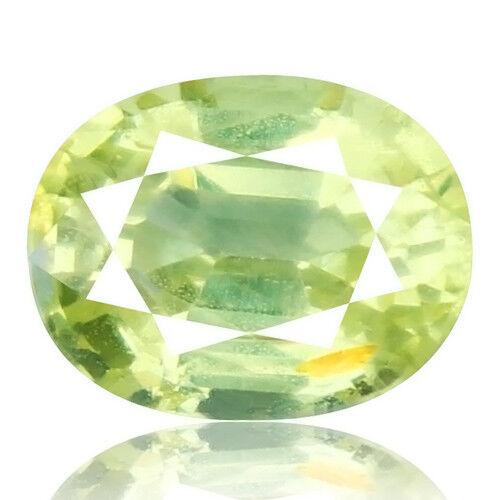 Tsavorite Family Garnet 2.87ct yellowish green color 100% natural earth mined