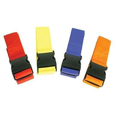 Kiefer Color-coded Spine Board 4 Torso Straps Assorted Colors