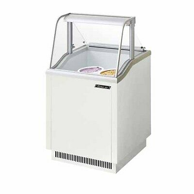 Turbo Air Tidc-26w 26-inch Ice Cream Dipping Cabinet White