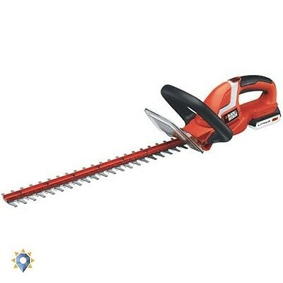 Cordless Grass Trimmer Electric Hedge Black And Decker Bush Cutter Clipper Tool