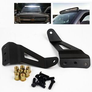 50 inch Curved Light Bar Mounting Brackets For 07-14 Chevy/GMC