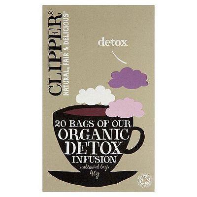 Clipper Tea Bags Organic Detox Tea 20 Bags