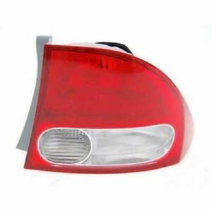 2009-2011 Honda Civic Tail Light Passenger Side Sedan