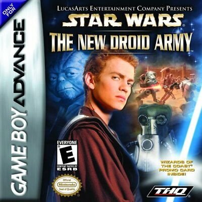 THQ Star Wars The Droid Army Gba Game Boy Advance