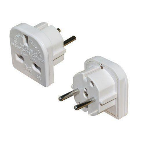 European Plug Adapter Adaptors Electrical Ebay