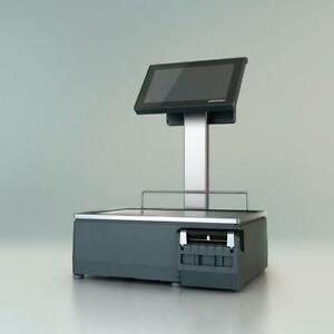 Computerized Commercial  Bizerba XC 100 Scale with 3-in-1 Printer
