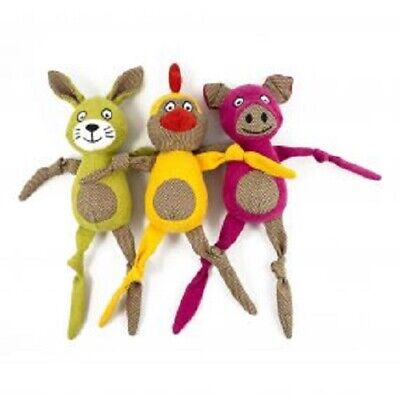 Ancol Knotty Knees Soft Dog Toy