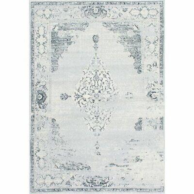Traditionelle Orientalische Teppich (nuLOOM traditionellen Vintage Abstrakt Teppich Allemans 91x152 Grau Orientalisch)