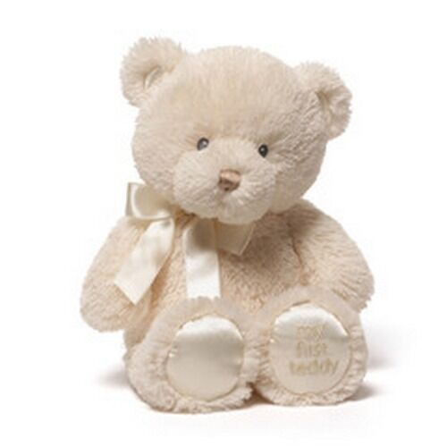"BABY GUND BEAR - 10"" MY FIRST TEDDY - NWT - 4056248 - GENDER"