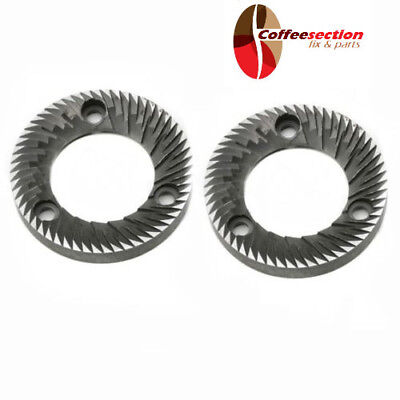 Mazzer Burrs For Super Jolly Espresso Grinder New 3-ph 64 Mm Pair
