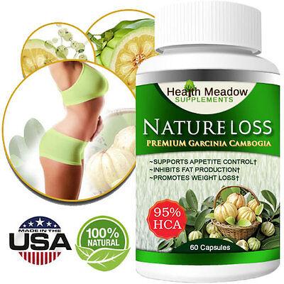 Pure Garcinia Cambogia Extract 95%HCA Weight Loss Diet Pills-Belly Fat Burner