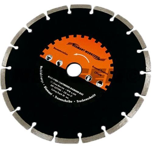 "2 x Neilsen 9"" 230mm High Speed Diamond cutting Disc General Purpose CT0690"